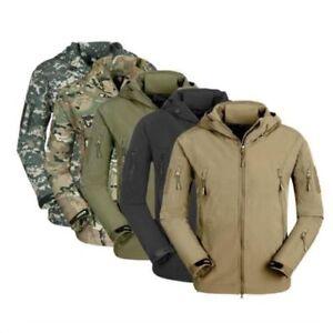ESDY-Men-Soft-Shell-TAD-SharkSkin-Waterproof-Tactical-Jacket-Hoodie-Outdoor-Coat