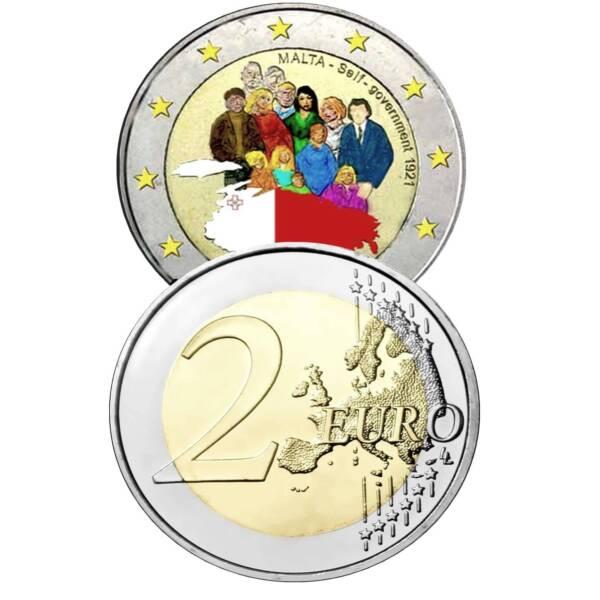 Brillant Malte 2 Self-government Couleur Encapsulé Unc. 2848514vvv Voulez-Vous Acheter Des Produits Autochtones Chinois?