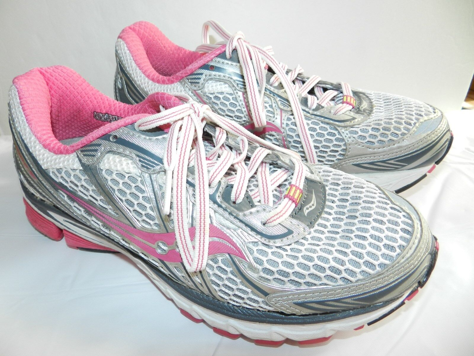 WOMENS RUNNING exercise SHOES = SIZE 6.5 = SAUCONY ride 5 sneakers = ss16