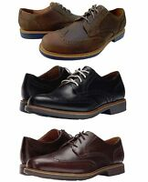 Cole Haan Mens Great Jones Wingtip Grand.os Lace Up Business Casual Dress Shoes