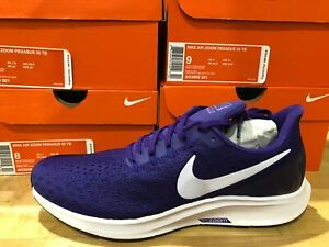 Nike-Air-Zoom-Pegasus-35-TB-Mens-Purple-White-Running-Shoes-Multiple-Sizes-NIB