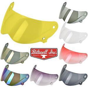 97c14d7bd20 Image is loading Biltwell-Lane-Splitter-Motorcycle-Helmet-Shield-Visor-All-