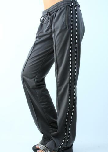 Victoria/'s Secret PINK Track Sweat Pants Fleece Straight Leg Boyfriend NWT