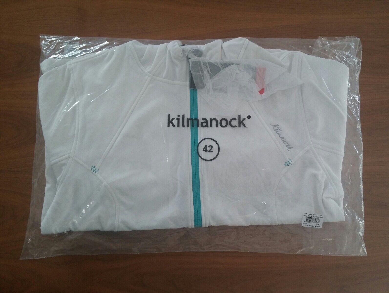 Softshelljacke Damen 42 Weiß von Kilmanock Outdoorjacke Windjacke Regenjacke