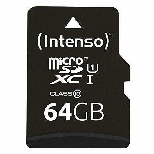 SD-adaptador UHS-I Intenso micro SDXC 64gb class 10 tarjeta de memoria incl