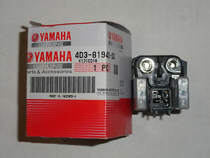Start Starter Relay Switch OEM Yamaha Raptor YFM250R YFM250 YFM 250R