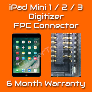 Apple-iPad-Mini-1-2-3-Digitizer-Touch-FPC-Connector-Repair-Replacement-Service