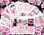 Rosa Xoxo Deluxe Pegatina Kit Para Erin Condren Vertical Planner amor