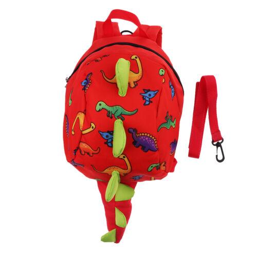 Kleinkind Rucksack Anti verlorene Kinder Kinder Tasche Dinosaurier Cartoon