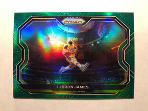2020-2021 Panini Lebron James Green Prizm Card #1 Lakers MVP KOBE TRIBUTE🔥📈
