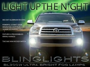 2008-2016-Toyota-Sequoia-Xenon-Faros-Antiniebla-Driving-Luces-Juego-Left-Right