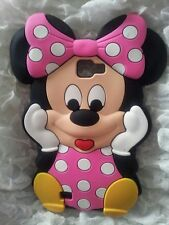 Silicone Cover per cellulari MINNIE1 PINK para SAMSUNG GALAXY NOTE 1 N7000