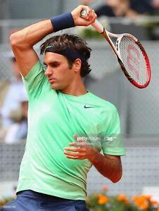 T-shirt tennis Nike Roger Federer RF, Madrid/Rome 2013, taille M