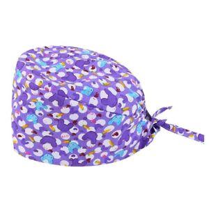 Unisex Scrub Hat Doctor Nurse Cap Medical Surgical Hat hospital Workwear 1pc