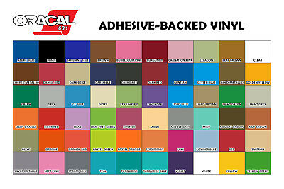 TEAL ORACAL 631 Adhesive Backed Matte Vinyl 12in x 10ft Roll
