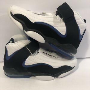 the latest 57382 3d5f0 Image is loading Nike-Air-Penny-IV-Retro-864018-100-White-