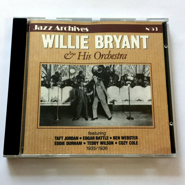 Willie Bryant And His Orchestra 1935/1936 (CD 1992) Jazz Archives No. 53