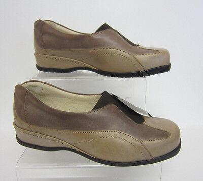 Sandpiper Arten Damen ohne Bügel beige / Rinde Lederschuhe UK5, 6.5 & 8 (41A)