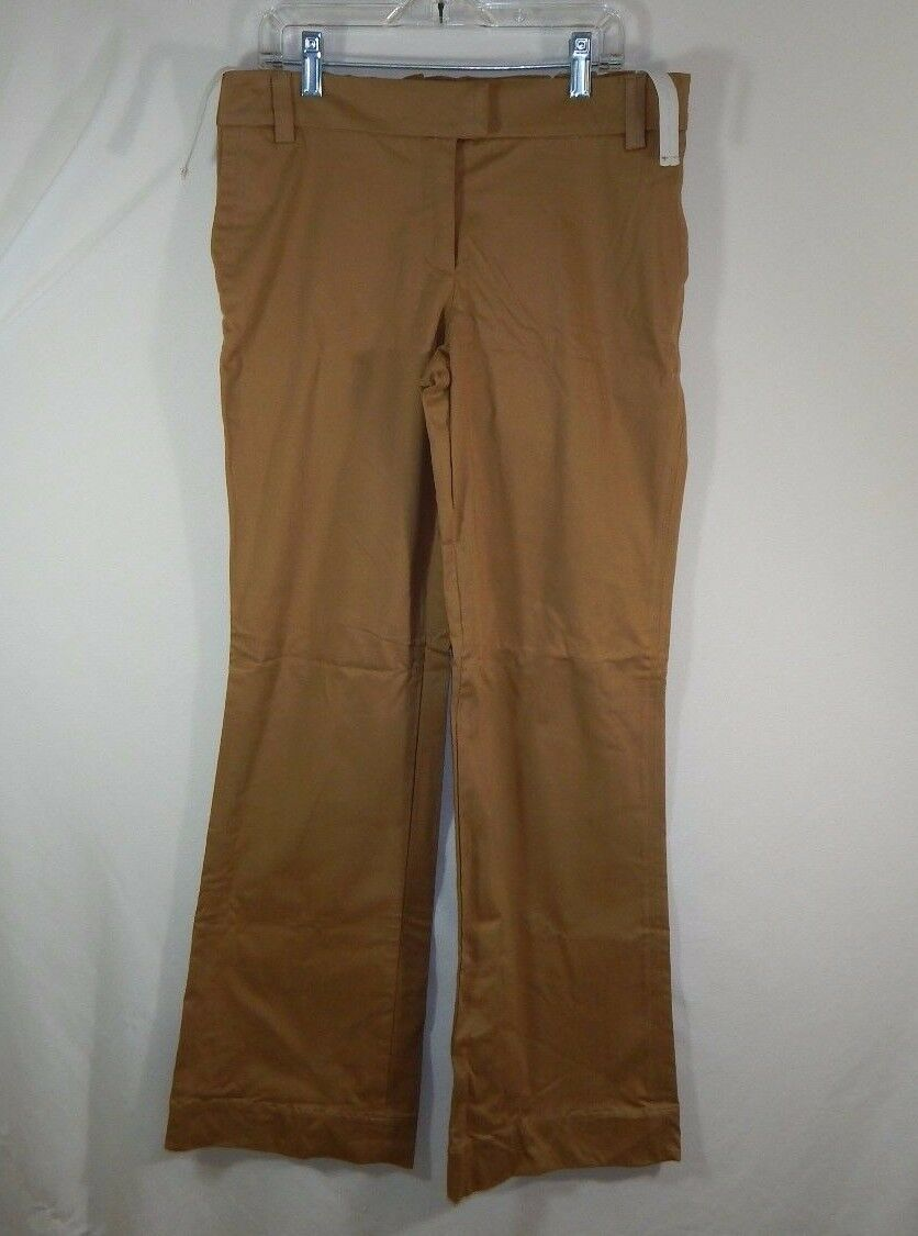 NWT Cadeau Stretch Cotton Khaki Womens Maternity Pants Size Small S