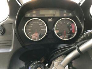 Honda-XL-1000-SD02-Varadero-Cromo-Pulido-Aleacion-Anillos-de-calibre-dial-rodea