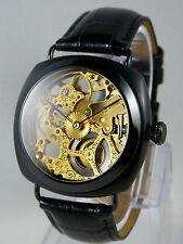 Piece unique Montre coussin squelette UNITAS 6497 skeleton custom watch uhr