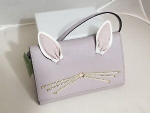 5f8469ee531 NWT Kate Spade Bunny Rabbit Winni Hop Leathers Crossbody Bag ...