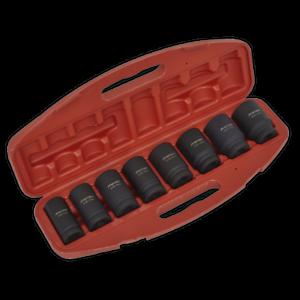 Sealey-Impact-Socket-Set-8pc-Deep-3-4-034-Sq-Drive-Metric-Garage-Workshop-DIY