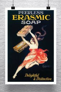 Erasmic-Soap-Vintage-Leonetto-Cappiello-Poster-Canvas-Giclee-Print-24x36-in