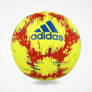 Details about adidas Glider Soccer Ball Solar Yellowfootball Blueactive Red 3 DN8733 $20