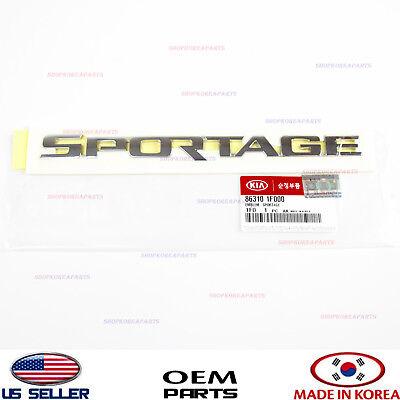 Kia 86310-1F000 Emblem-SPORTAGE