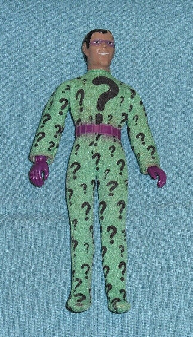 Vintage Mego WORLD'S GREATEST SUPER-HEROES WGSH 8  THE RIDDLER with belt