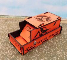 Troll Works Custom Laser engraved Klingon Empire Combo dice tower and holder