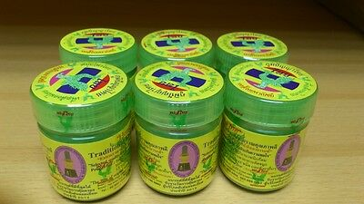 Hong Thai Traditional Thai Herbal Inhalant Inhaler Refreshing Dry Herb1,2,3,6EA