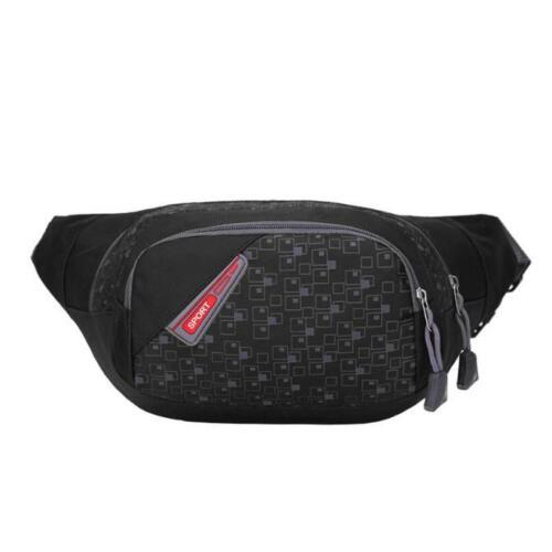 Running Bum Bag Travel Handy Hiking Sport Fanny Pack Waist Belt Zip Pouch US