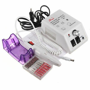New-Electric-Nail-Drill-Professional-Manicure-Pedicure-File-Acrylic-Kit-Bits-TE