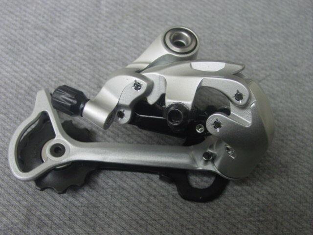 Schaltwerk Shimano  Deore LX  , silver RD-T 661   9 speed  silver