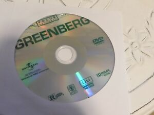 Greenberg (DVD, 2010)Disc Only 73-37