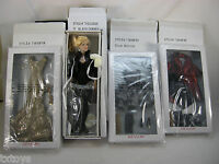 13 Black Canary Tonner Doll 3 Outfits Silver Shimmer Midas Touch Velvet Dazzle