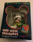 4 Enesco Disney Mickey Mouse Ornament Holiday Christmas Tree-rific Treasures
