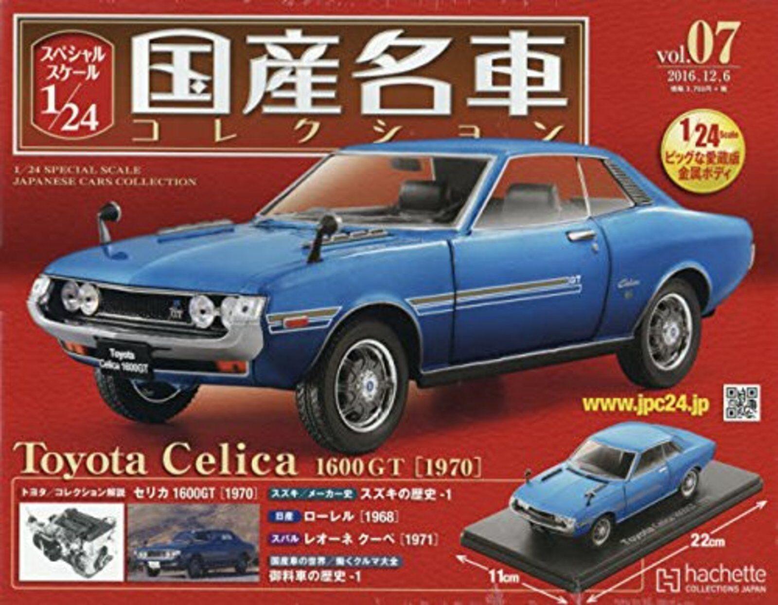 1 24 Spécial Echelle Japonais Voitures Collection Vol.07 Toyota Celica 1600gt