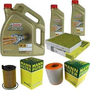 Inspektionskit-filtro-castrol-7l-aceite-5w30-para-audi-a6-avant-4g5-c7-3-0-TDI