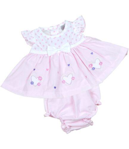 BabyPrem Prvorzeitige Babykleidung Frühchen Baby Mädchen Pink Weiß Kleid 32-50cm