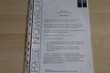 107915) Peugeot 205 Turbo 16 - Genfer Salon - Presseinformation 198?