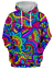 3D Print MenWomen Hoodie Sweater Sweatshirt Trippy Psychedelic Jacket Pullovers