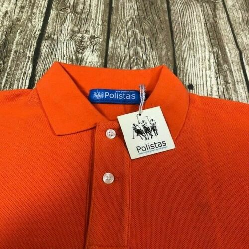 Polistas Childs  Orange  Polo Shirt RRP £69.95 NOW £12.99