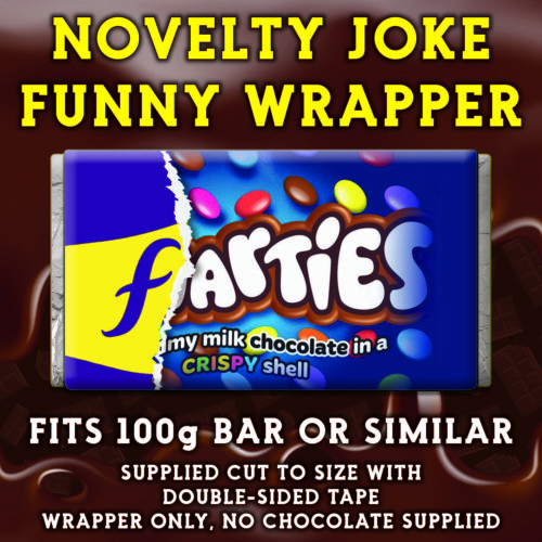 Novelty Fathers Day CHOCOLATE BAR WRAPPER fit Galaxy 110g Father/'s Day Gift