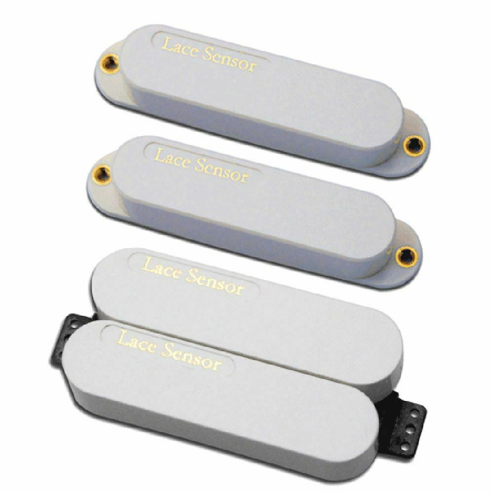 Lace Sensor Deluxe Plus Pack (Gold, Gold, Gold Gold Dually) HSS set - Weiß