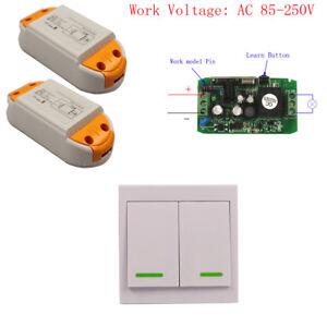 16V-48V 220V 85-250V Wall Panel Control Wireless Lights
