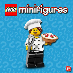 LEGO Minifigures #71018 - Serie 17 - Chef Gourmet / Gourmet Chef - NEW - SEALED