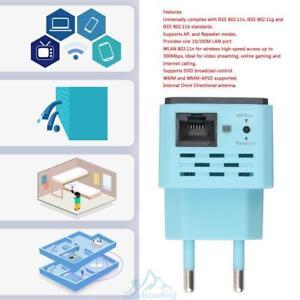 Wireless-WIFI-WLAN-Repeater-300-Mbit-Mini-Router-WLAN-Verstaerker-802-11n-g-b-EU